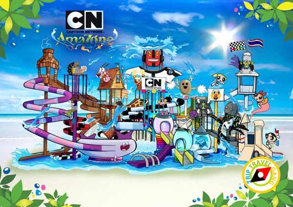 สวนน้ำการ์ตูนเน็ทเวิร์ค อเมโซน (Cartoon Network AMAZONE)  (1)