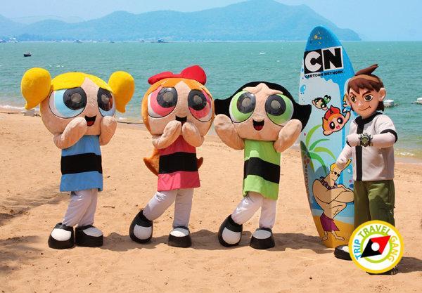 สวนน้ำการ์ตูนเน็ทเวิร์ค อเมโซน (Cartoon Network AMAZONE)  (2)