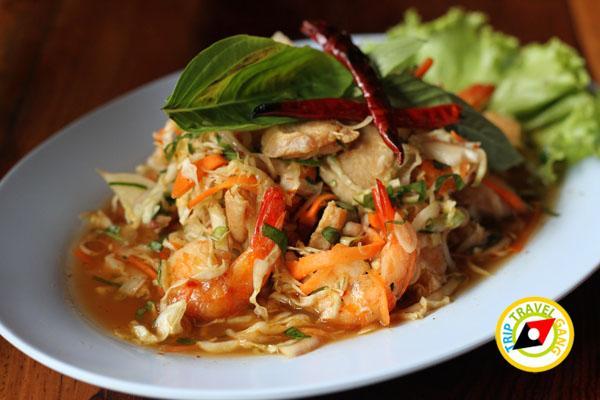 ร้านอาหารแพมิตรสัมพันธ์ อำเภอสังขละบุรี กาญจนบุรี (1)