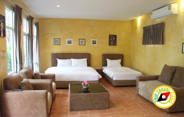 ภูเจ้าอัมพวา รีสอร์ท ที่พัก โรงแรม ใกล้ตลาดน้ำ ราคาถูก (26)