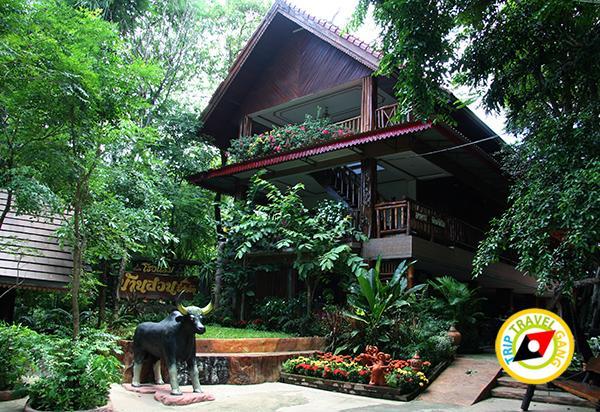 แนะนำที่พัก โรงแรม รีสอร์ท บ้านไร่ อุทัยธานี สวย น่านอน บรรยากาศดี ติดภูเขา (8)