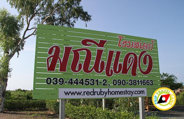 มณีแดง โฮมสเตย์ RedRuby Homestayแหลมสิงห์ จันทบุรี รีสอร์ท โรงแรม ที่พัก กินปู ดูทะเล (4)
