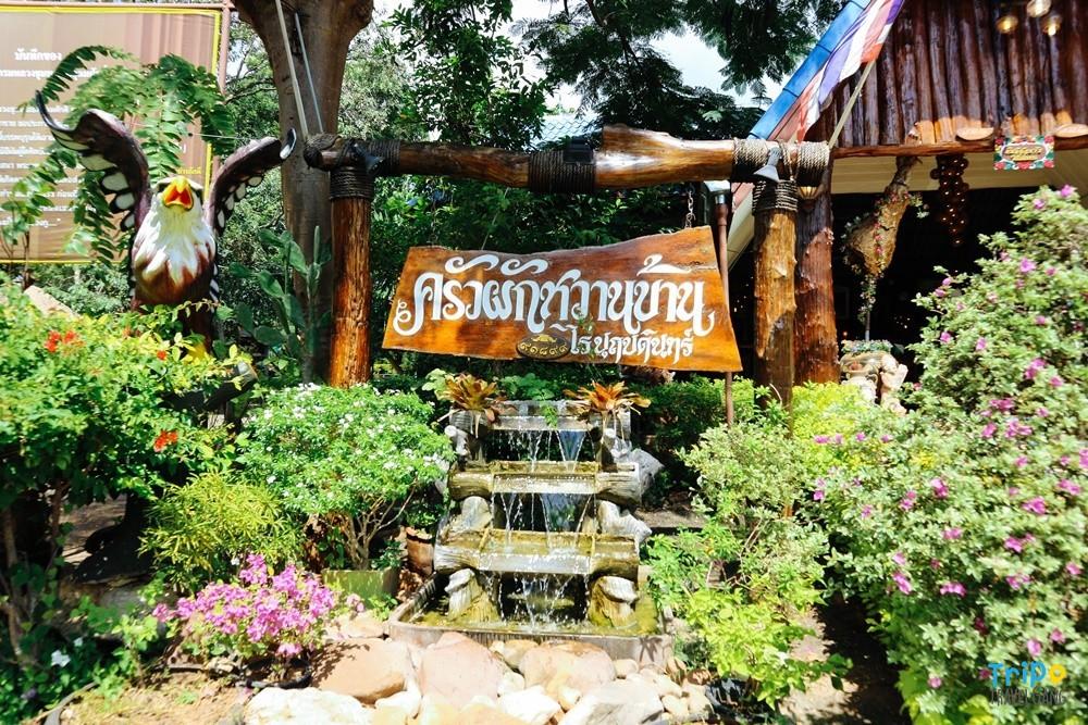 ครัวผักหวาน ร้านอาหารกาญจนบุรี (1)