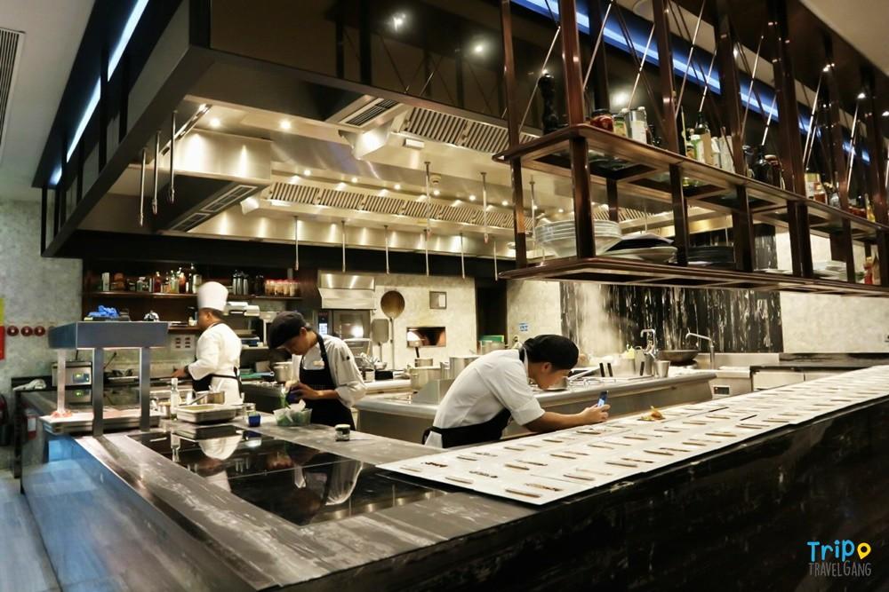 ห้องอาหารสกาลินี โรงแรมฮิลตัน แนะนำ กรุงเทพฯ (2)