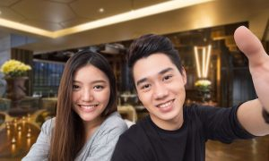 Hilton Scalini WeFie Couple ฮิลตัน สุขุมวิท