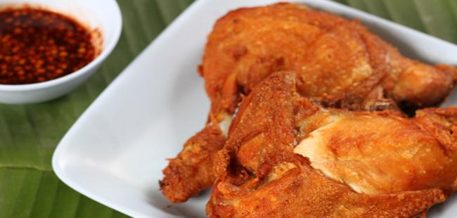 ไก่ทอดกรรณิการ์ (ไก่ทอดโกศล) หัวหิน