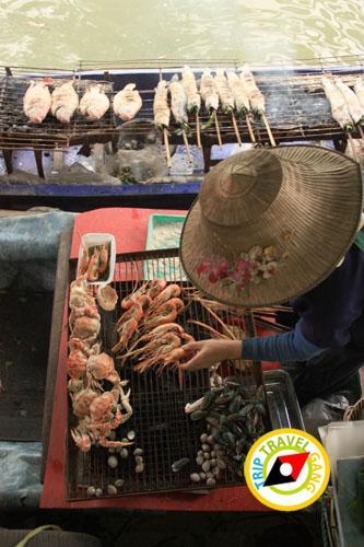 ครูติ๋มปลาเผา ตลาดน้ำตลิ่งชัน (2)
