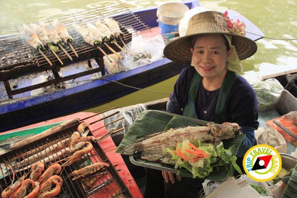 ครูติ๋มปลาเผา ตลาดน้ำตลิ่งชัน (4)