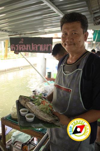 ครูติ๋มปลาเผา ตลาดน้ำตลิ่งชัน (5)