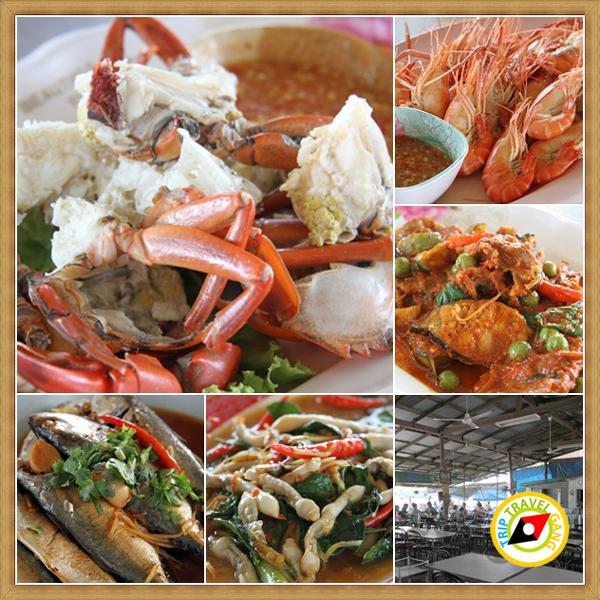 ร้านน้องอุ้มอาหารทะเล อัมพวา สมุทรสงคราม (2)