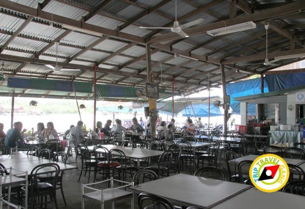 ร้านน้องอุ้มอาหารทะเล อัมพวา สมุทรสงคราม (3)