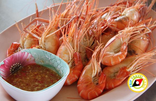 ร้านน้องอุ้มอาหารทะเล อัมพวา สมุทรสงคราม (9)