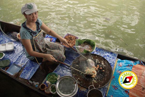หอยทอดป้าสังวาล ตลาดน้ำตลิ่งชัน (4)
