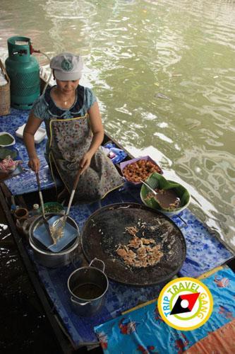 หอยทอดป้าสังวาล ตลาดน้ำตลิ่งชัน (5)