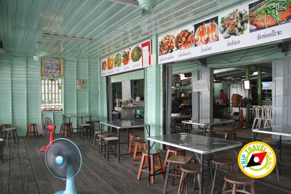 ภัตตาคารริมน้ำ ฮงเส็ง ร้านอาหาร บรรยากาศดี ริมแม่น้ำเจ้าพระยา นนทบุรี (10)