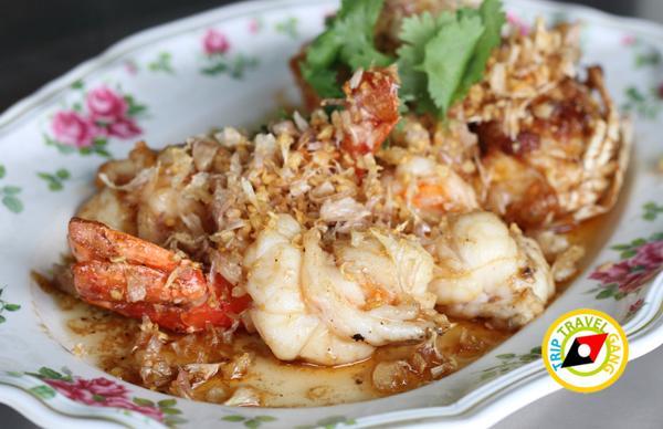 ภัตตาคารริมน้ำ ฮงเส็ง ร้านอาหาร บรรยากาศดี ริมแม่น้ำเจ้าพระยา นนทบุรี (18)
