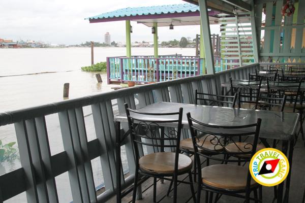 ภัตตาคารริมน้ำ ฮงเส็ง ร้านอาหาร บรรยากาศดี ริมแม่น้ำเจ้าพระยา นนทบุรี (38)