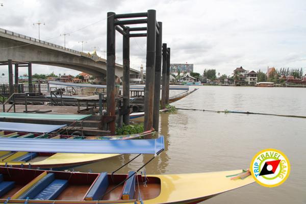 ภัตตาคารริมน้ำ ฮงเส็ง ร้านอาหาร บรรยากาศดี ริมแม่น้ำเจ้าพระยา นนทบุรี (9)