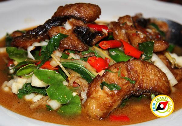 ร้านอ้อมตีนไก่ ถนนแสงชูโต เมืองกาญจนบุรี (5)