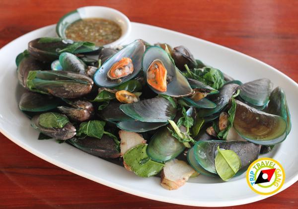 ครัวบ้านประมง  ร้านอาหารซีฟู้ด ริมทะเลบางขุนเทียน แนะนำ อร่อย Seafood  (13)