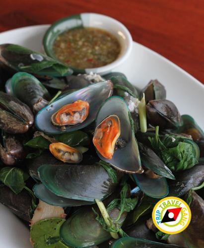 ครัวบ้านประมง  ร้านอาหารซีฟู้ด ริมทะเลบางขุนเทียน แนะนำ อร่อย Seafood  (14)