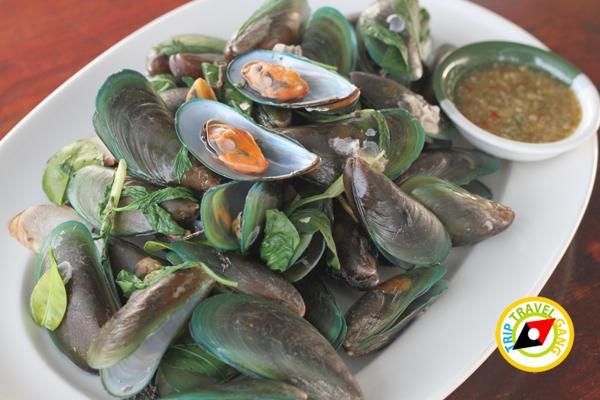 ครัวบ้านประมง  ร้านอาหารซีฟู้ด ริมทะเลบางขุนเทียน แนะนำ อร่อย Seafood  (15)
