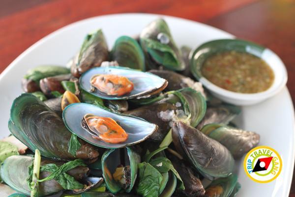 ครัวบ้านประมง  ร้านอาหารซีฟู้ด ริมทะเลบางขุนเทียน แนะนำ อร่อย Seafood  (16)
