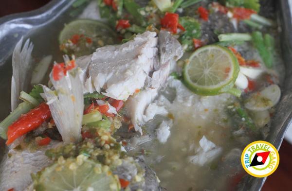 ครัวบ้านประมง  ร้านอาหารซีฟู้ด ริมทะเลบางขุนเทียน แนะนำ อร่อย Seafood  (25)