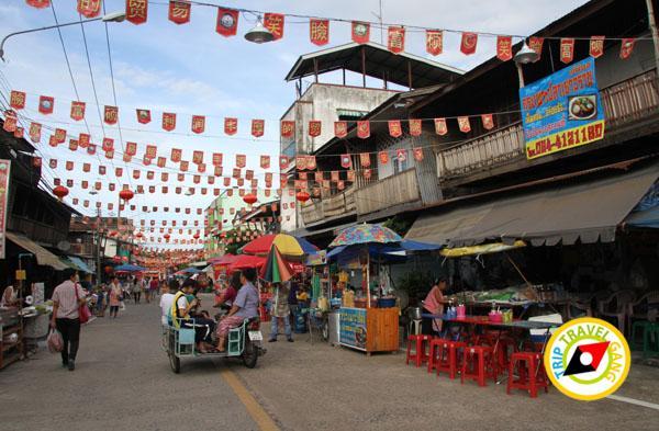 ท่องเที่ยว ชุมชนจีนโบราณ ตลาดชากแง้ว ชลบุรี (2)