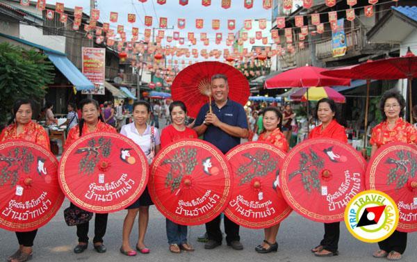 ท่องเที่ยว ชุมชนจีนโบราณ ตลาดชากแง้ว ชลบุรี (32)