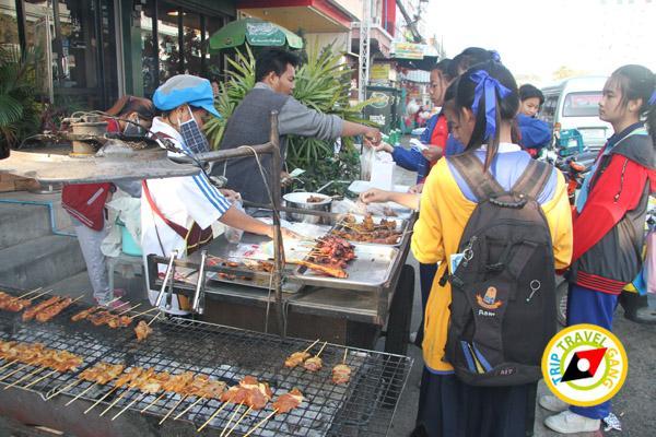 ร้านหมูย่างอยุธยา ร้านอาหารร้อยเอ็ด ที่กิน แนะนำร้านอร่อย บรรยากาศดี Roi-Et restaurants  (27)