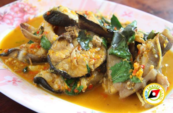 ร้านแดงอาหารทะเล (เจ้าเก่า) แม่กลอง  ที่กิน สมุทรสงคราม แนะนำอร่อย  (3)