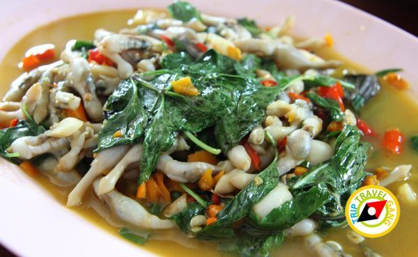 ร้านแดงอาหารทะเล (เจ้าเก่า) แม่กลอง  ที่กิน สมุทรสงคราม แนะนำอร่อย  (9)