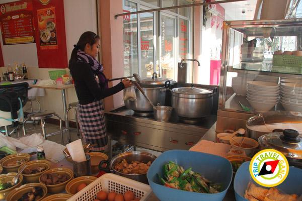 ร้านโจ๊กฮ่องเต้ ร้านอาหารร้อยเอ็ด ที่กิน แนะนำร้านอร่อย บรรยากาศดี Roi-Et restaurants  (30)