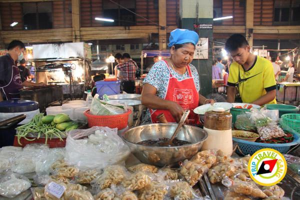 ส้มตำยายต๋อย ตลาดทุ่งเจริญ ร้านอาหารร้อยเอ็ด ที่กิน แนะนำร้านอร่อย บรรยากาศดี Roi-Et restaurants  (56)