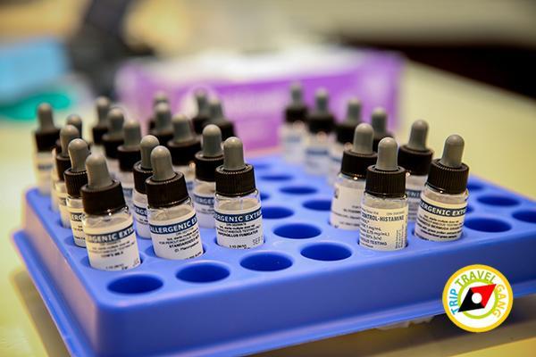 โรคภูมิแพ้เรื้อรัง การักษา อาหาร วิธีการดูแลตัวเอง ทำอย่างไรหาย Skin Test (4)