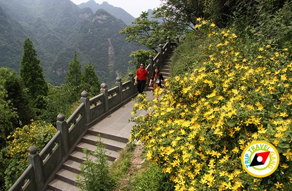 เที่ยวอู่ฮั่น หูเป่ย์ แหล่งท่องเที่ยวที่เที่ยว ประเทศจีน เขาบูตึ้ง ด้วยตัวเอง China (54)