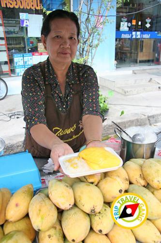 ร้านข้าวเหนียวมะม่วงป้าสะอิ้ง อำเภอแก่งคอย สระบุรี (1)