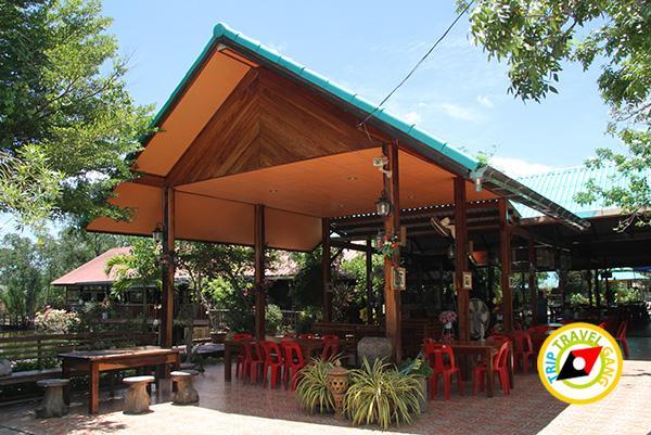ร้านอาหาร บ้านไม้ชายเลน รีสอร์ท ที่กินคลองโคน ร้านอาหารอร่อยคลองโคน สมุทรสงคราม (2)