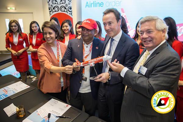 แอร์เอเชียสั่งซื้อเครื่องบินแอร์บัส A321neo