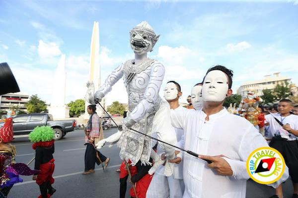 เทศกาลหุ่นโลก กาญจนบุรี 2016 พร้อมมิตรฟิล์มสตูดิโอ ค่ายสุรสีห์ 17