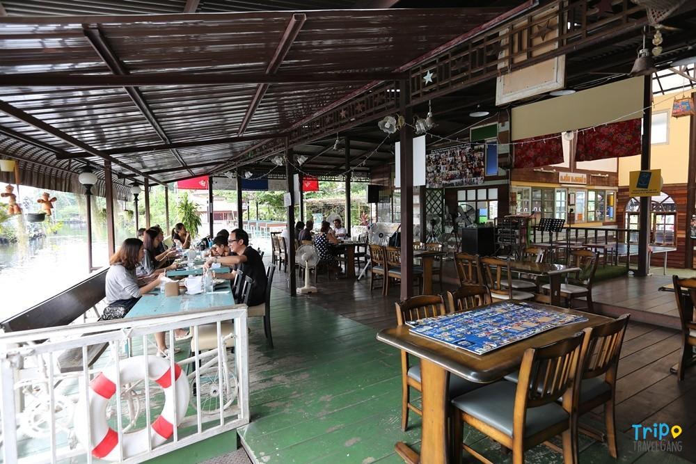 ร้านกาแฟริมน้ำ แนะนำคาเฟ่บรรยากาศดี (4)