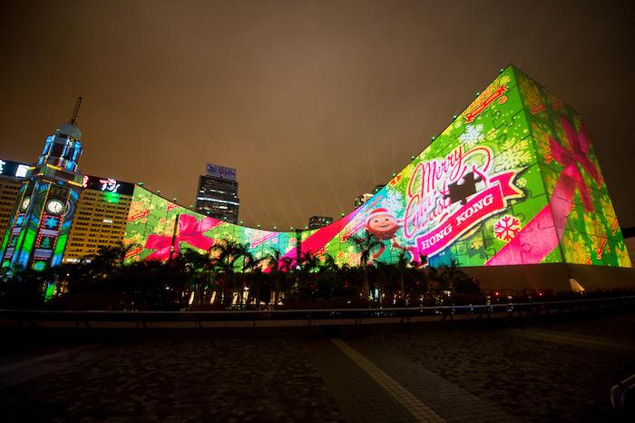 HK WinterFest_Hong Kong 3D Pulse_2 เที่ยวฮ่องกง