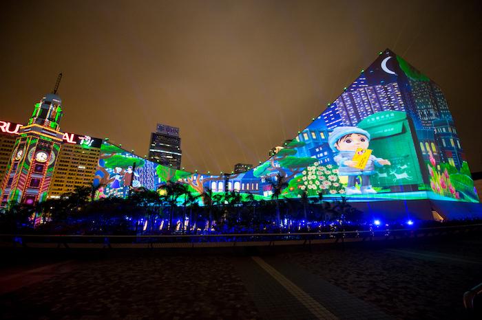 HK WinterFest_Hong Kong 3D Pulse_4 เที่ยวฮ่องกง