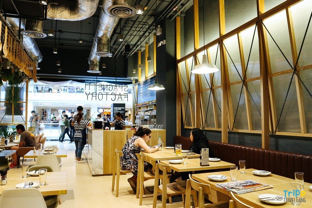 Spaghetti Factory ร้านสปาเก็ตตี้ แฟคทอรี่ ที่กินกรุงเทพฯ (6)